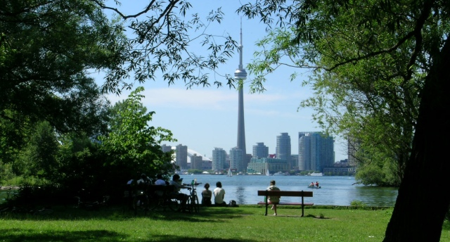 TorontoSkylinefromIsland