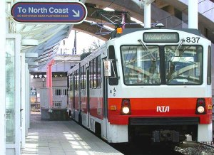 Cleveland Rapid Transit subway car